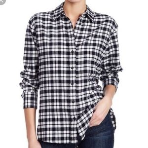 Madewell Side-Button Flannel